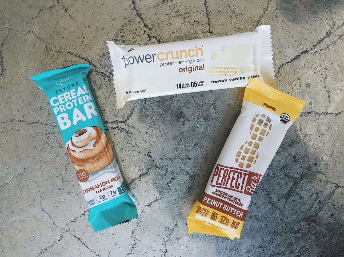 My Go-t0 Protein Bars